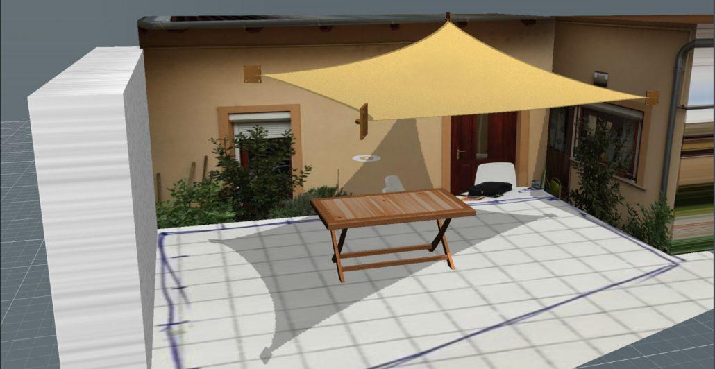 Napvitorla 3D-s látványprogram